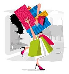 huge shopping
