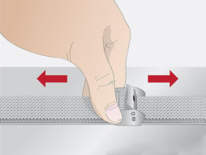 mesh watch strap